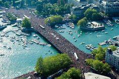 Street parade, Zurich, Switzerland..omg soooooo many people!