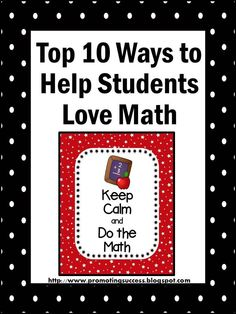 FREE Math Strategies -- REPIN and visit this blog for tons of FREE teaching ideas and resources! ~ TeachersPayTeachers Promoting Success for You and Your Students!