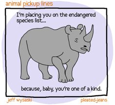 Remember when I posted those Animal Pickup Lines last year? You can look at them after you check out this new batch… Previously: More Animal Pickup Lines How to Clean Your House Pics) Lame Pick Up Lines, Anti Pick Up Lines, Cute Pickup Lines, Romantic Pick Up Lines, Pickup Lines Smooth, Corny Jokes, Dad Jokes, Pick Up Lines Cheesy, Odd Compliments