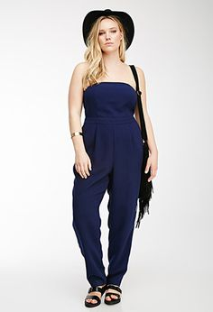 Pleated Strapless Jumpsuit  ddc0dcaf70a6