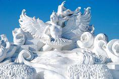 Hardin Ice And Snow Sculpture Festival