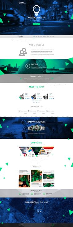 web design - Tilko ( company ) by Shizoy on DeviantArt