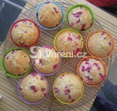 Recept na jednoduché a rychlé muffiny. Vareni.cz - recepty, tipy a články o vaření. Muffins, Cupcakes, Treats, Breakfast, Sweet, Ring Cake, Goodies, Cupcake, Cup Cakes