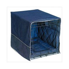 Shop for Pet Dreams Classic Cratewear Dog Crate Cover Denim. Get free delivery at Overstock.com - Your Online Crates