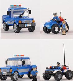 Szybkie i niezawodne – takie muszą być pojazdy policjantów.  I takimi właśnie dysponują funkcjonariusze Action Town, dla których pościgi i niebezpieczne akcje to codzienność.