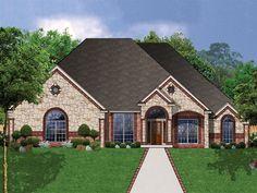 DeSoto European Home  from houseplansandmore.com