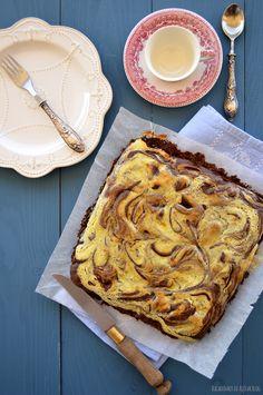 Bocadinhos de Açúcar: Cheesecake Brownie com Arandos