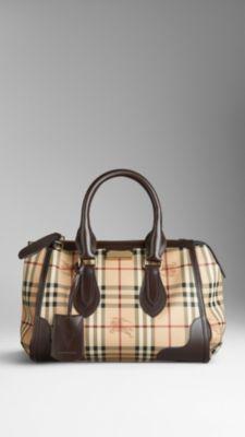 de62cbe43439 Small Haymarket Check Tote Bag Burberry Tote Bag