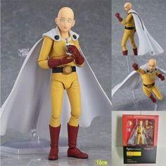 Figma 310 Anime Movable One Punch Man Hero Saitama Action Figure Figurine Toy