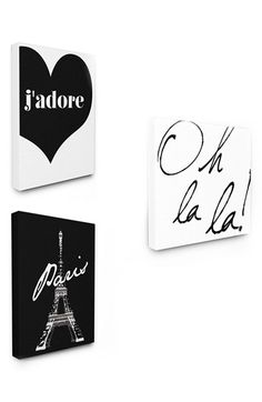 LulusimonSTUDIO Paris Canvas Wall Art (Set of 3) at Nordstrom.com. Show your love for the City of Light with a set of three adorable canvas prints. Each one is mounted on a pine stretcher, so you can hang them on your wall or lean them in a bookshelf.