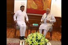 New Delhi: Amid a political slugfest between the Samajwadi Party and BJP over the water crisis in Uttar Pradesh, especially in drought-hit Bundelkhand region, Chief Minister Akhilesh Yadav on Saturday met Prime Minister Narendra Modi. Yadav discussed with the prime minister the drought and water-scarcity situation that has badly hit the state and apprised him about the work done by...  Read More