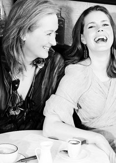 Meryl Streep & Amy Adams by Ondrea Barbe.