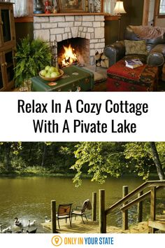 These cozy cottages in Arkansas are the perfect place to spend the night. Guests will enjoy fishing and boating in a private lake, walking and hiking trails, visiting the neighboring ranch, and more. It's perfect for a summer vacation.