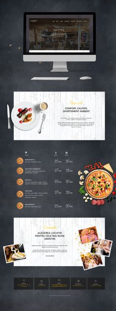 Restaurant Serendipidy Web Design, Photoshop, Interaction Design, Serendipity, Adobe, Design Inspiration, Restaurant, Design Web, Cob Loaf