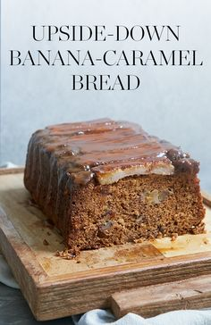 What do you get when you combine classic banana bread with rich caramel sauce? One decadent loaf that works for dessert…or breakfast. — via @PureWow