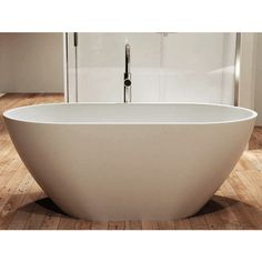 The Rosella bath is is the perfect addition to a bathroom where space is limited but don't worry - you won't have to compromise on a great bathing experience when it comes to volume. The Rosella will answer all your bathing needs. Geometric Lines, Amazing Bathrooms, Modern Luxury, Don't Worry, Basin, Things To Come, Space, Beautiful, Floor Space