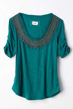 Anthropologie - Jewelscape Tee