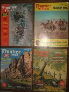 Lot of 7 Frontier Times Magazines Vintage True West Stories 19966, 1967 Cochise