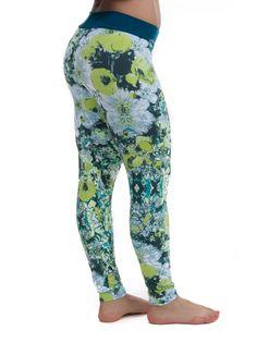 Camboriú – Jade flower leggings