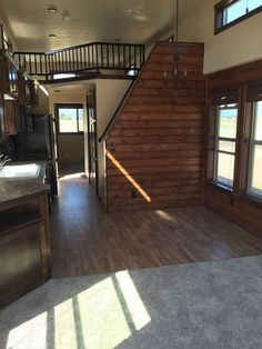 Clever Tiny House Loft Stair Ideas (20)