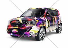 Custom Painted 2013 Kia Soul Car