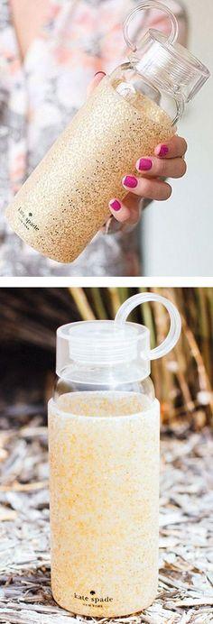 Glitter Kate Spade Water Bottle ❤︎
