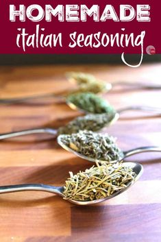 This simple Italian Seasoning Mix can be made at home with spices you already have in your spice cabinet. Homemade Italian Seasoning Mix | Take Two Tapas | #ItalianSeasoning #SpiceMix #Seasoning #SpiceBlend #ItalianSeasoningRecipe