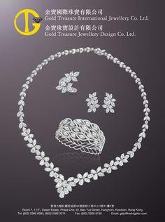 Gold Treasure Int'l Jewellery Co Ltd #Booth No.: C-B12, C-B14, C-C11, C-C13 #Country: Hong Kong #Fine Jewelry Zone