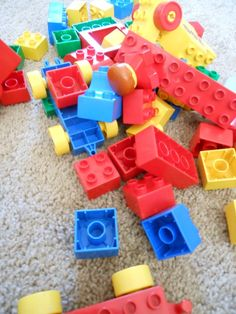 Check out these quick and easy tips to enhance your toddler's LEGO DUPLO play.