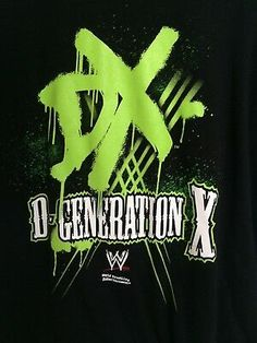WWE DX INVASION TOUR T SHIRT YOUTH NEW OFFICIAL EX TOUR WRESTLING RARE