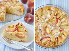 Pfirsich Zitronen Kuchen