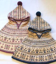 Northern Lights children's cape with knitting pattern | LITTLE SCANDINAVIAN