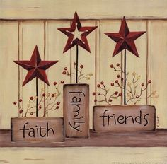 Faith Family Friends Pic, but want to do this with wood blocks