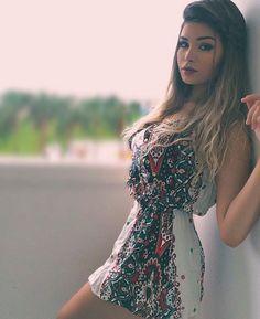 "Amanda Hummer ❥ no Instagram: ""Vestidinho lindoo @lojabychic """
