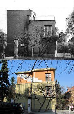 Vila Grete Reinerové - ulice Nad Olšinami. Zdroj: https://picasaweb.google.com/116528770511783370129/StrasniceVceraADnes