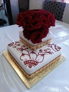 Engagement/Mendi Cake