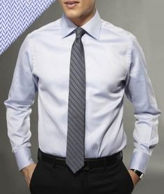 Dress Shirt + Tie= Lookin' sharp for that interview! Best Dress Shirts, Dress Shirt And Tie, Slim Fit Dress Shirts, Interview Attire, Dress Formal, Dress To Impress, What To Wear, Guys, My Style