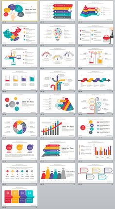 25+ Best Slide Infographic PowerPoint templates on Behance