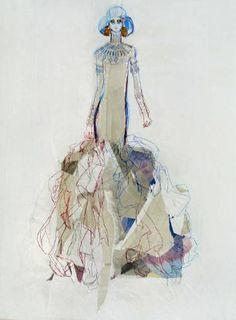 "Saatchi Art Artist Claudia Wimmer; Drawing, ""Egypt 18"" #art"