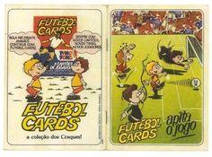 Em 1978 o chiclete Ping Pong lançou a coleção Futebol Cards.