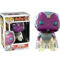 ***Got this!! *** Phasing Vision - Marvel: The Avengers - Exclusive Funko Pop! Vinyl Figure
