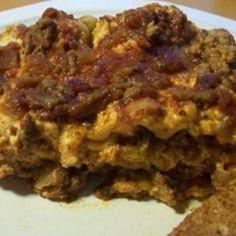Slow Cooker Lasagna.... Um yum!!!!