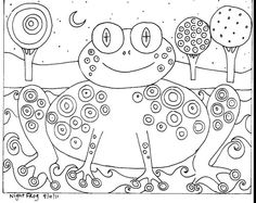 Folk Embroidery Patterns You are dealing with Karla Gerard, Maine Folk Art/Abstract Artist, Originator/Creator of concentric circles/flowers in trees paintings and in landscapes. Over of my original paintings are in worldwide collections. Folk Embroidery, Learn Embroidery, Embroidery Patterns, Machine Embroidery, Karla Gerard, Rug Hooking Patterns, Rug Patterns, Antique Quilts, Pattern Paper