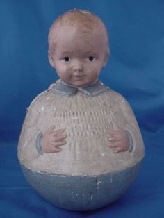 1900's RARE SCHOENHUT ROLY POLY, YOUNG BOY