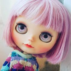 "62 Likes, 5 Comments - Nina Doll Face (@nina.doll.face) on Instagram: ""New girl is coming soon. #ninadollface #blythesimplylilac #blythe #simplylilac #instablythe…"""