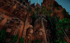 Halion - Imgur Minecraft Mansion Tutorial, Minecraft Castle, Front Gates, Entry Gates, Throne Room, Before Sunset, The Monks, The Locals, Natural Beauty