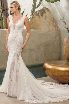Wedding Dress 2306 Savannah by Casablanca Bridal - Search our photo gallery for pictures of wedding dresses by Casablanca Bridal. Find the perfect dress with recent Casablanca Bridal photos. Lela Rose, Vestidos Marchesa, Casablanca Bridal Gowns, Wedding Gown Gallery, Wedding Dress Pictures, Wedding Photos, Bridal Wedding Dresses, Bridal Style, Mermaid Bridal Gowns