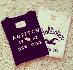 hollister....a&f........my 2 stores!! + american eagle