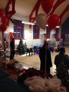 Christmas Party Decorations Balloons Christmas Tree Snow
