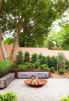 European and local influences mingle to spectacular effect in this inviting Sydney garden, tailor-made for entertaining as well as quieter moments. Landscape Design, Garden Design, Sydney Gardens, Australian Native Garden, Back Gardens, Spanish Style, Outdoor Areas, Outdoor Entertaining, Garden Planning